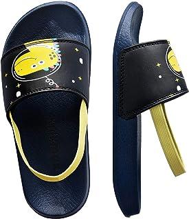 comprar comparacion Knixmax - Chanclas para Niños y Niñas, Zapatos de Playa y Piscina para Unisex Niñas Sandalias de Punta Descubierta Ducha y...
