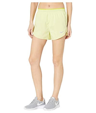 Nike 3 Tempo Lux Shorts (Limelight/Bright Cactus/Reflective Silver) Women