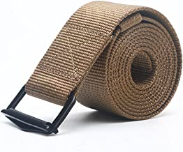 Hsrkocb Cintura Tattica in Stile Militare da Uomo Registrabile Vicino Camicia Tessuto in Nylon Cintura con Fibbia per Lavorare Allaperto,Traspirante Maschile Nastro Casual Formali Cintura Reversibil