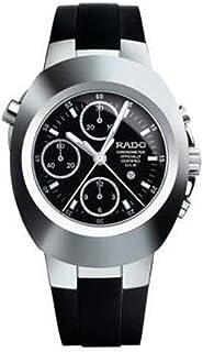 ساعة رادو للرجال مطاط اسود مينا اسود - R12694159