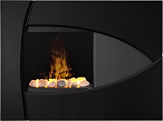 Dimplex DTBBK Brayden Opti-Myst Wall-Mounted Fireplace Surround, Black
