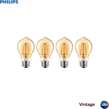 Phillips LED regulable, A19, Paquete de 4, 60-watt Equivalent-