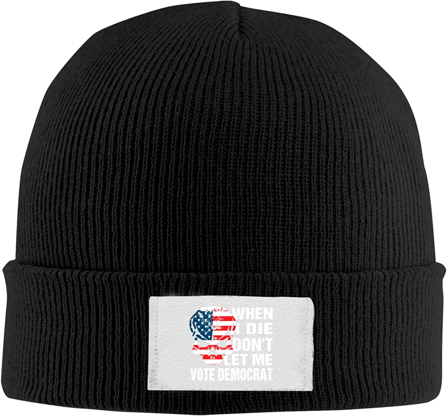 When I Sale Special Price Die Don't Let Ranking TOP16 Me Vote Stylish Skull Knit Winte Hat Trendy