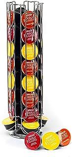 Support à Capsules à Café Dolce Gusto, Porte Capsules Distributeur Présentoir Rotatif pour 32 Capsules, Supports Rangement...