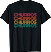 Retro Churro Mexican Dessert I Love Churros T-Shirt