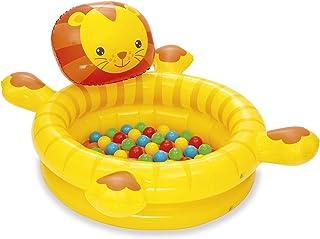 Bestway 44 x 39 x 24/1.11m x 98cm x 61.5cm Cuddly Cub Ball Pit, Yellow