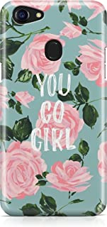 Covery Cases You Go Girl Cover For Oppo F5, Multi Color