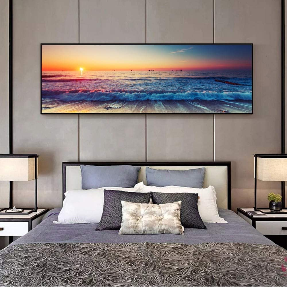 DIY 5D Diamond Painting Online limited product by Numbers Kits Excellent Large D Drill Beach Full