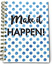 Bright Day Calendars New UNDATED Daily to-Do List Book Planner - Notes, Goals, to Do's Planning System - 8.25