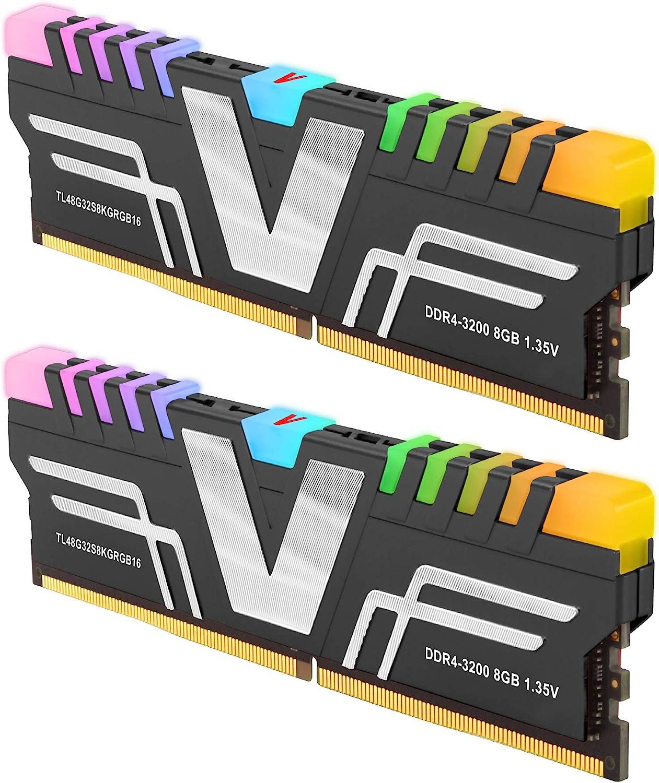 V Color Prism Rgb 16 Gb Ddr4 3200 Mhz Cl16 1 35 V Computer Zubehör