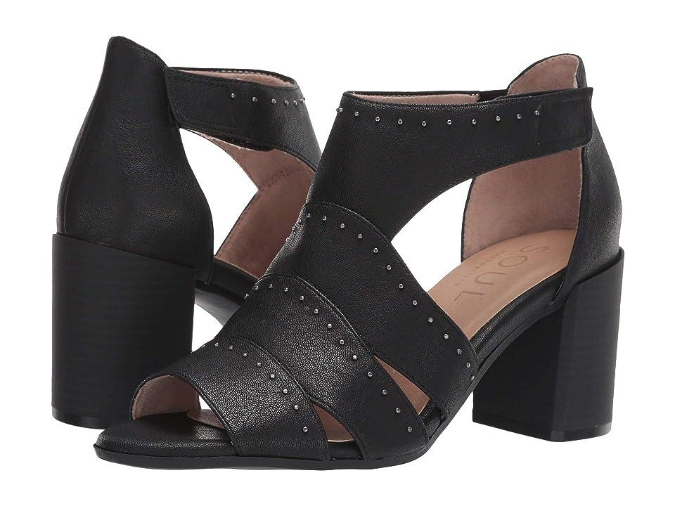 SOUL Naturalizer Christina (Black Smooth) High Heels