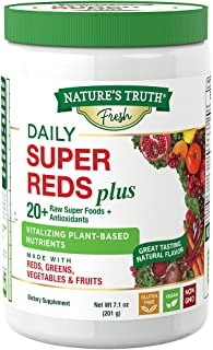 Nature's Truth Daily Super Reds Powder with Greens, 7.1 Ounce