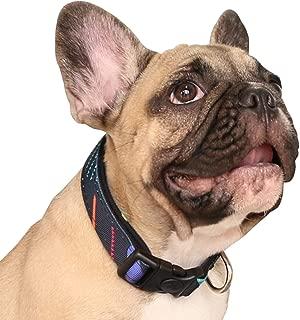 iChoue Pet Dog Collar Padded Adjustable Collars for Small Medium Dogs
