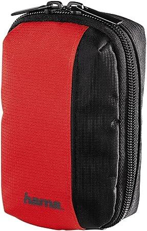 Hama Kameratasche Für Eine Kleine Digitalkamera Fancy Sports 60h Rot
