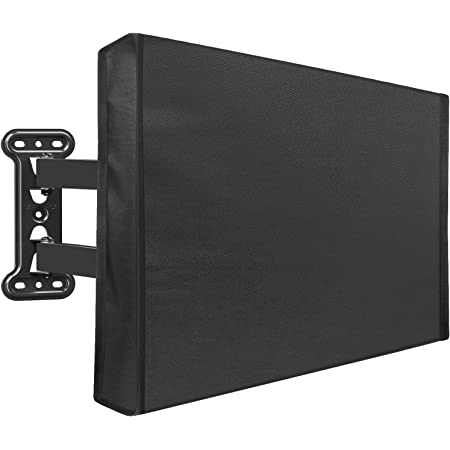 Panther Serie wetterfest Universal Displayschutzfolie 65-70 schwarz Outdoor TV