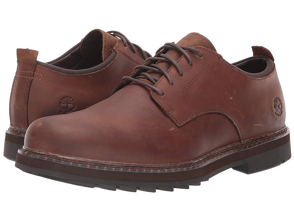 Timberland Squall Canyon Plain Toe Waterproof Oxford (Medium Brown Full Grain) Men