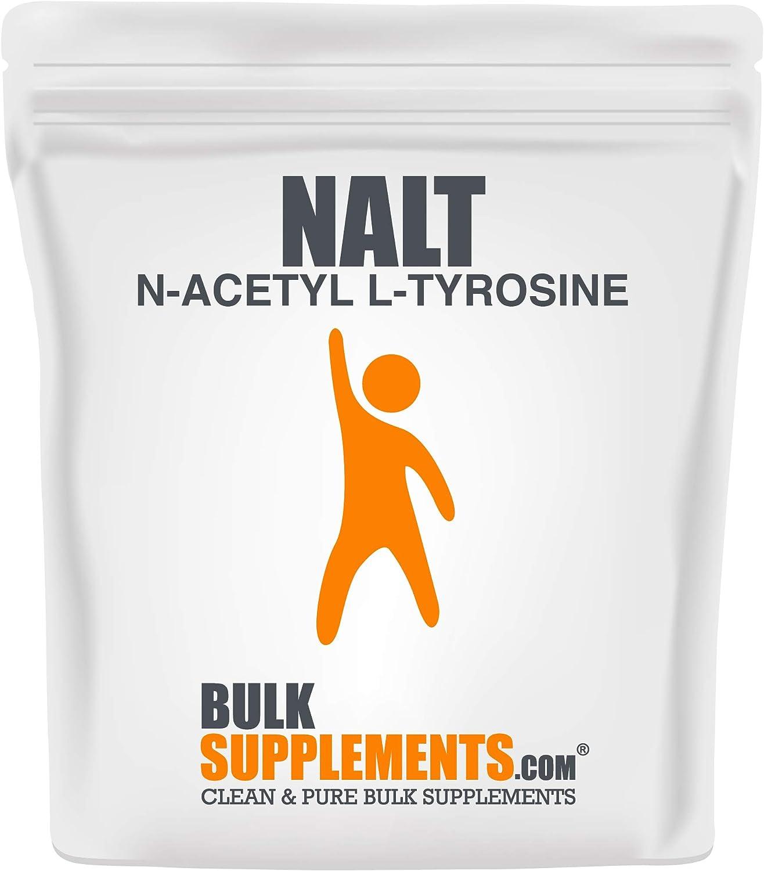 BulkSupplements.com N-Acetyl L-Tyrosine Fashion Safety and trust NALT Powder Tyrosine -