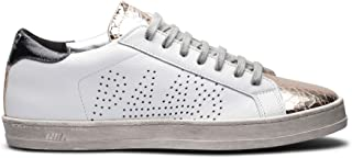 Women's John White/GOP Italian Leather Sneaker