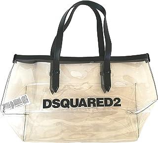 DSquared Damen-Strandtasche aus PVC und Kunstleder DQ03YR D00XW DQ002 D2W37F