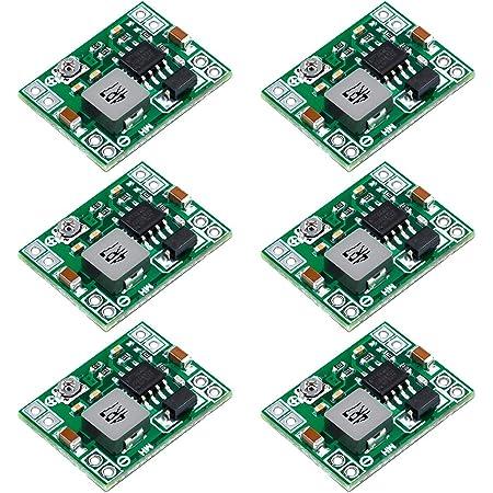 Yxpcars 6 Stücke Mini Einstellbar Dc Dc Abwärtswandler Elektronik