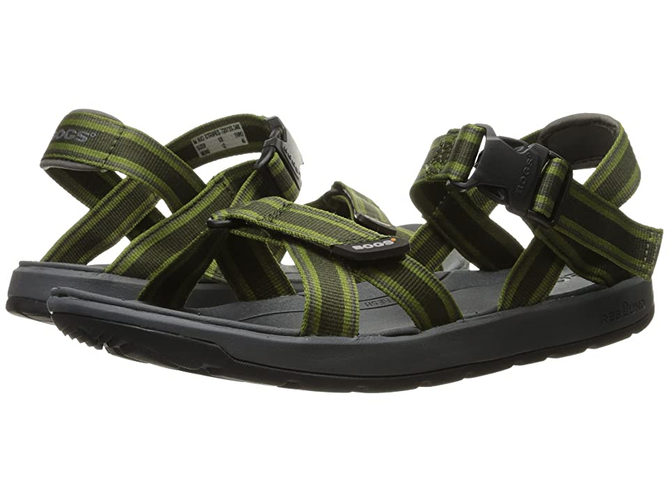 6eb920ff723e Bogs Rio Sandal Stripes (Dark Green Multi) Men