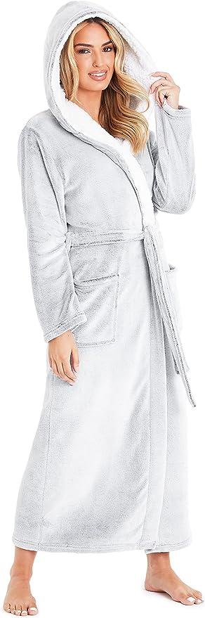 7854 opinioni per CityComfort Vestaglia da Donna con Cappuccio, Vestaglia Donna Invernale in
