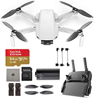 DJI Mavic Mini - Drone FlyCam Quadcopter, Starter Bundle, with Extreme SD Card and More
