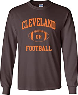 City Classic Football Arch American Football Team Long Sleeve T Shirt
