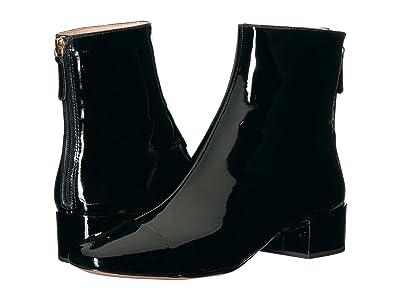 J.Crew Patent Leona Boot (Black) Women