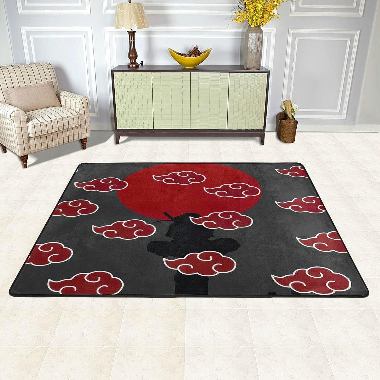 Super Soft Japanese Area Rugs Anime Super sale Mat Carpet Fan Raleigh Mall Art Anti-Skid