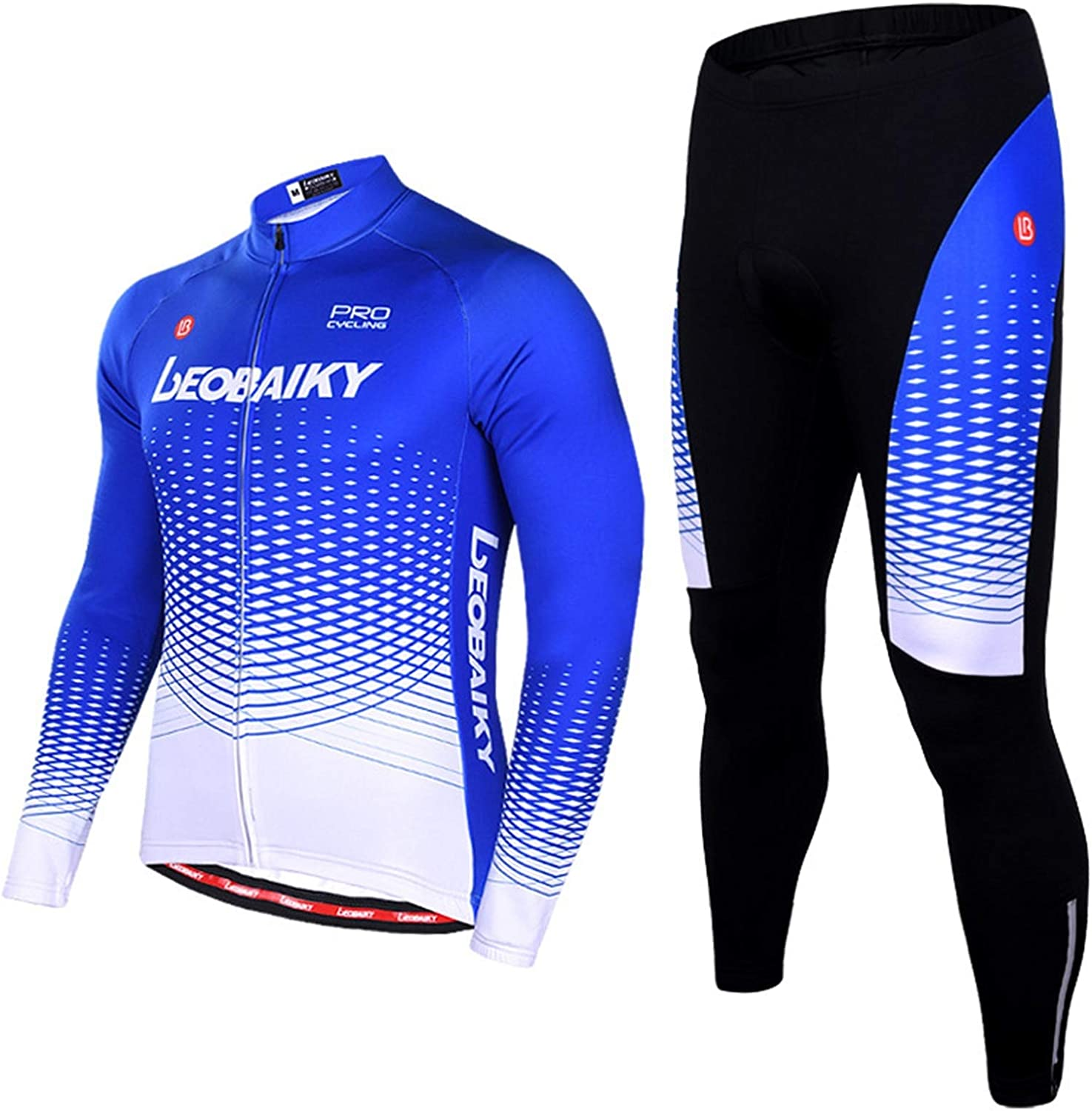 Epinki Men Fall Winter Cycling Jersey for Outdoor and Multi Sports Bicycle Clothes