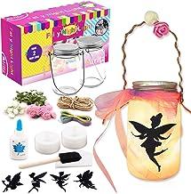 Alritz Fairy Lantern Craft Kit for Kids, DIY FairyJar Night Lights Craft Projects Party Centerpiece Birthday Gift for Girls