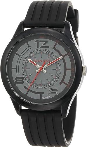 Analog Black Dial Men s Watch NM77007PP02 NL77007PP02
