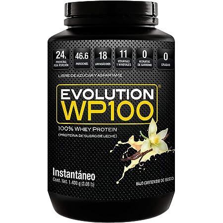EVOLUTION WP100 VAINILLA 1400 GR PROTEÍNA…