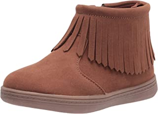 Carter's girls Hena Fashion Boot, Brown, 10 Toddler US