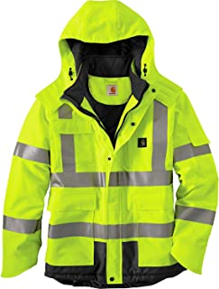 Carhartt Men's High Visibility Waterproof Class 3...