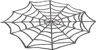 إكسسوار غطاء طاولة بتصميم شبكة عنكبوت بأحجار الراين من فورام نوفيليتيز، مقاس واحد، كما هو موضح