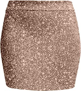 34892511cd NE PEOPLE Women's Stretch Knit Bodycon Mini Pencil Skirt Made in USA