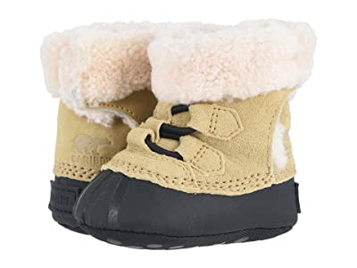 SOREL Kids Caribootietm II (Infant) (Curry/Black) Girl