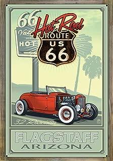 Northwest Art Mall Flagstaff Arizona Metal Print on Reclaimed Barn Wood by Paul A. Lanquist (24