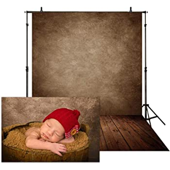 Ivory Wood Boards and Dead Leaves Wedding Baby Photography Background Custom Photography Studio Photography Background
