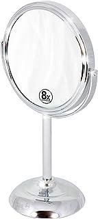 آینه دودکش دوجداره 6 اینچی Decobros با بزرگنمایی 8x، ارتفاع 11 اینچی، Chrome Finish
