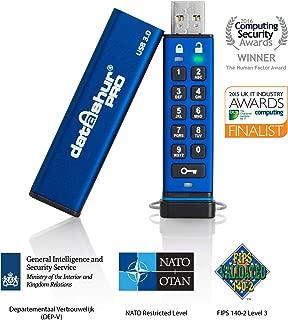 iStorage datAshur PRO 256-bit 64GB USB 3.0 secure encrypted flash drive IS-FL-DA3-256-64
