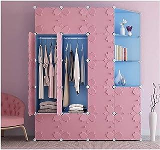 Garde-robe XINYALAMP Armoire modulable Armoire Plastique Armoire Armoire Cube Organisateur de Stockage pour Armoire à vête...