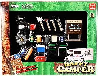Happy Camper - Phoenix Garage Diorama Accessory Set 18430 - 1/24 scale diecast car diorama accessory