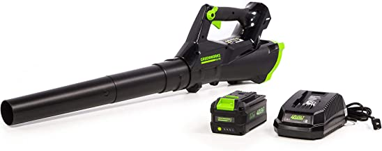 Greenworks 40V 110MPH Cordless Axial Blower, 390 CFM / 110 MPH, LB-390