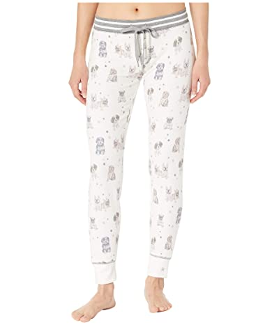 P.J. Salvage Pawfection Jogger (Ivory) Women