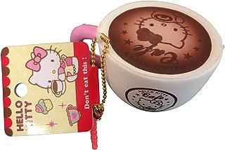 SANRIO Squishy Hello Kitty Cafe Latte Coffee Cup + Bonus Jenna Lyn Squishy!
