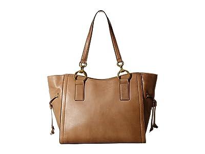 Frye Ilana Tote (Taupe) Tote Handbags