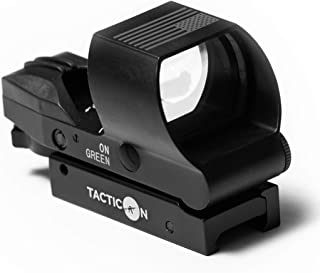 Best Predator V2 Reflex Sight | Combat Veteran Owned Company | 45 Degree Offset Mount Included | Reflex Rifle Optic with 4 Reticle Patterns | Adjustable Color Settings | Red Dot Green Dot Gun Scope Review